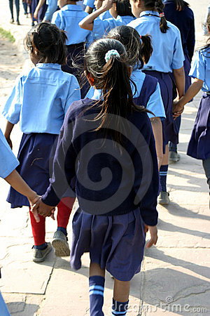 Girl Child Education Editorial Stock Image