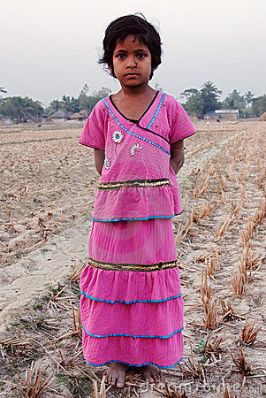 Free Girl Child In India Royalty Free Stock Photo - 18326475