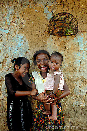 Girl Child in India Editorial Photo