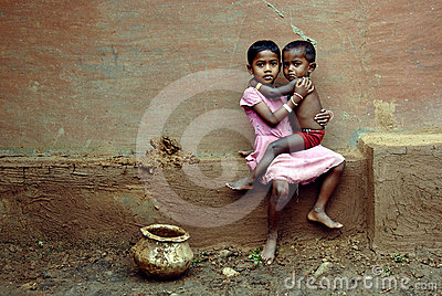Girl child in India Editorial Stock Image