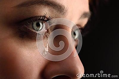 Girl cry