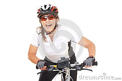 Girl Cyclist