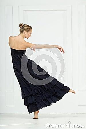 Girl in dance