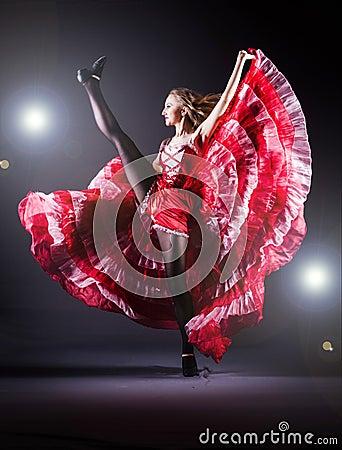Girl  dancing dance