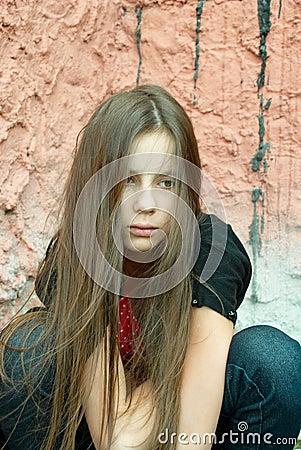 A Girl In Despair