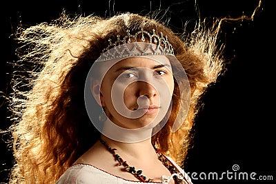 Girl with a diadem