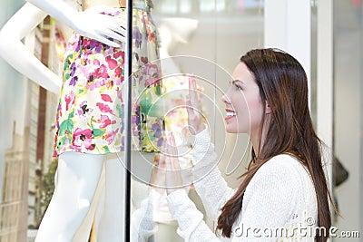 Girl Dress Shopping