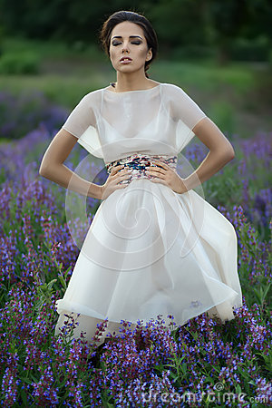 Girl in the dress