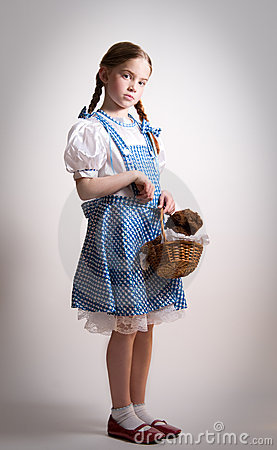 Free Girl Dressed Up As Dorothy From Oz Royalty Free Stock Photography - 7512597