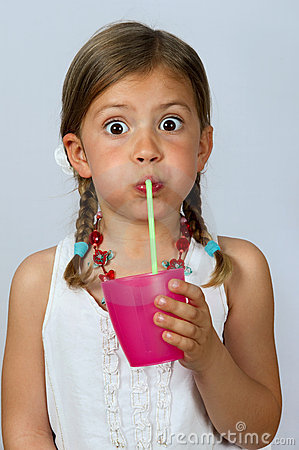Https Www Dreamstime Com Royalty Free Stock Photos Girl Drinking Straw Image14047818