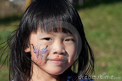Girl Face paint