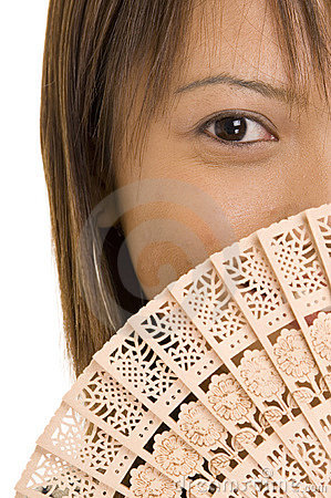 Girl And Fan 2