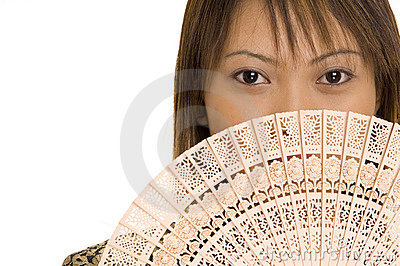Girl and Fan 5
