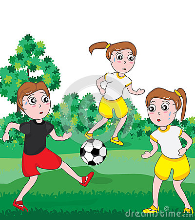 Girl Football Competition_eps