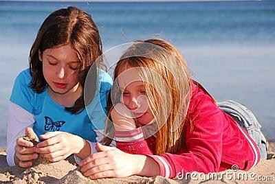 Girl friends talking