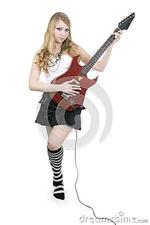 Girl Guitar Player