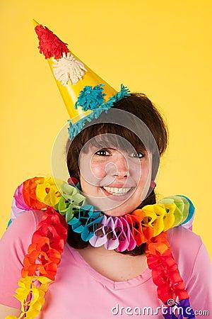 Girl is having a stunning birthday