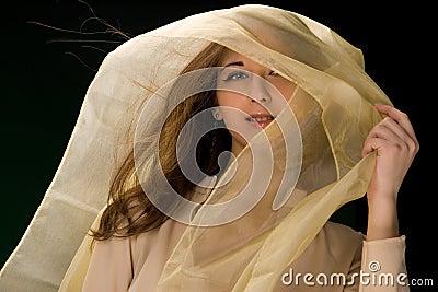 girl with headscarf