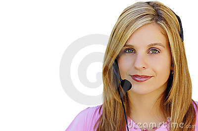 Girl With Headset