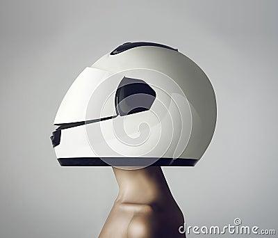 girl in astronaut helmet - photo #18
