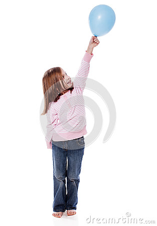 Free Girl Holding Balloon Royalty Free Stock Images - 78837519