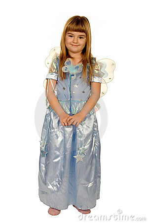 Free Girl In A Fairy Costume Royalty Free Stock Photos - 1985228