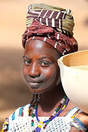 Free Girl In Africa Stock Image - 18989901