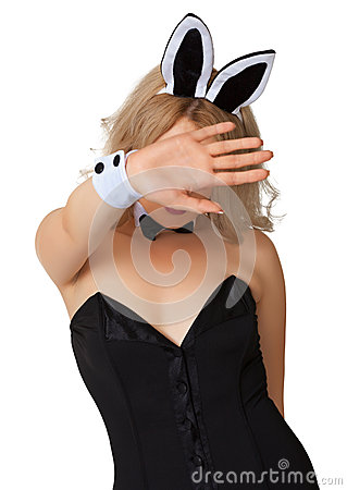 Free Girl In Erotic Costume Wishes To Remain Incognito Stock Image - 26028211