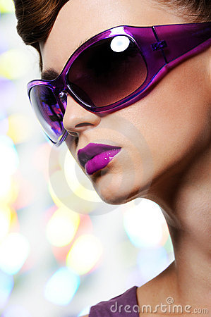 Free Girl In Fashion Sunglasses Stock Photo - 10863630