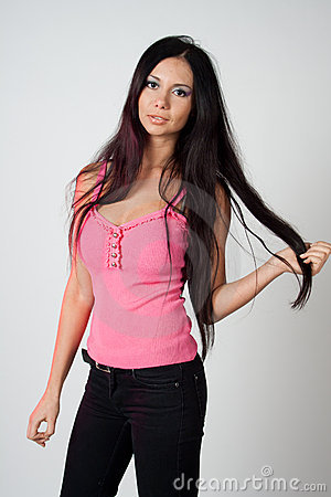Free Girl In Pink Royalty Free Stock Images - 17398939
