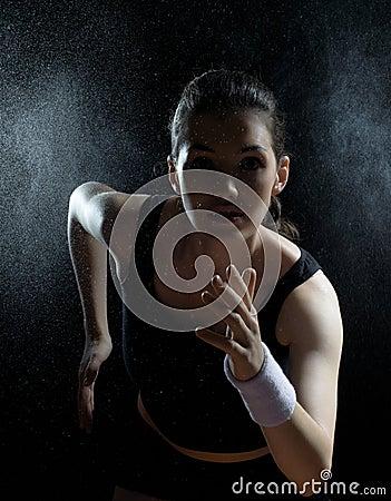 Free Girl In Sport Stock Photo - 21299300