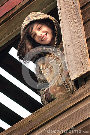 Free Girl In The Window Royalty Free Stock Photography - 51691357