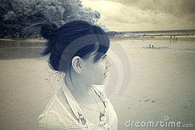 Girl in IR