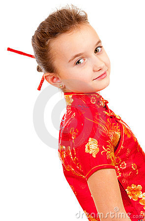 Girl in the Japanese style