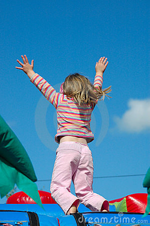 Free Girl Jumping Royalty Free Stock Photo - 3163155