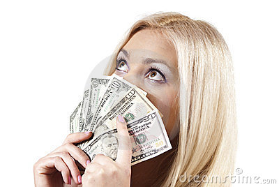 Girl keeps the money