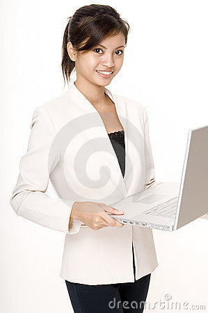Girl With Laptop 3