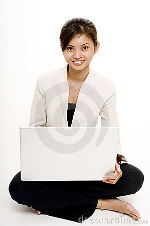 Girl With Laptop 7