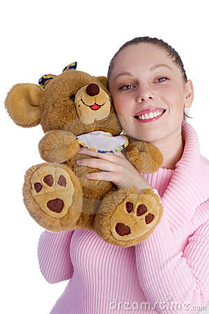 girl in love with bear
