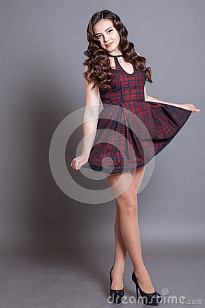 Free Girl Model Posing In The Studio Royalty Free Stock Photography - 76499667