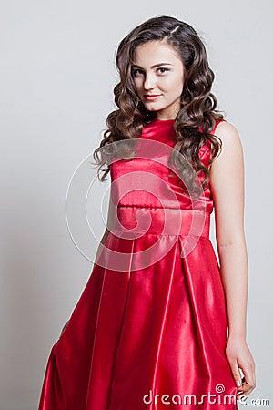 Free Girl Model Posing In The Studio Stock Image - 76500411