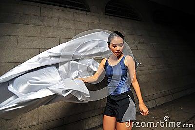 Girl in Motion 25