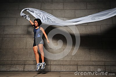 Girl in Motion 4