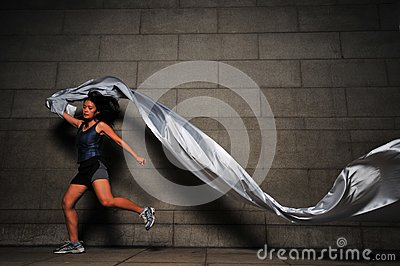 Girl in Motion 5