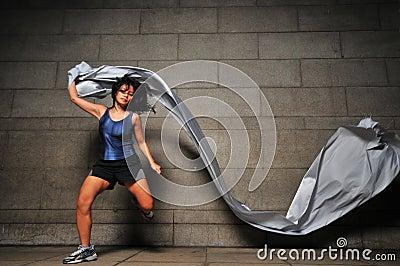 Girl in Motion 6