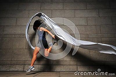Girl in Motion 7