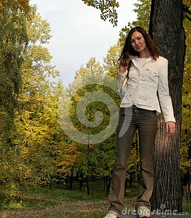 Girl and nature