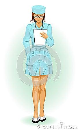 Girl nurse