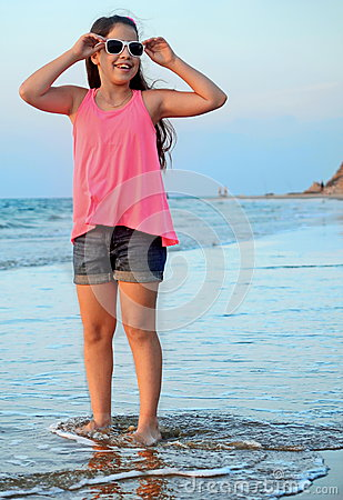 Free Girl On The Mediterranean Royalty Free Stock Images - 38570379