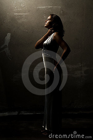 Free Girl On The Roof Royalty Free Stock Photography - 12214947